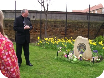photo of Bishop Terry at Redcar Cemetery
