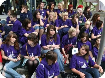 photo of young people