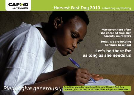 CAFOD launches Harvest Fast Day Appeal