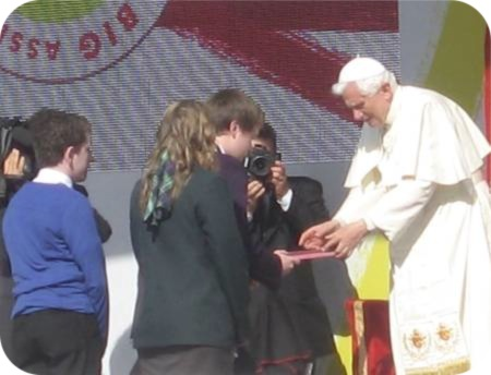 Reflection on the Visit of Pope Benedict XVI