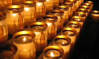 photo of devotional candles