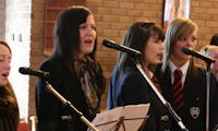 photo of young singers