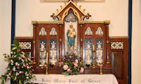 photo of an altar