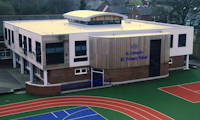 photo of new school building