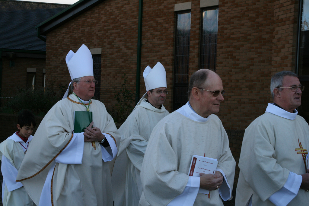 Bishop Terry and Abbot Cuthbert of Ampleforth Abbey
