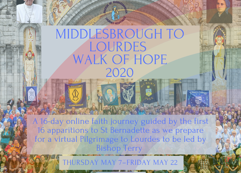 Join Us On Our Lourdes Walk Of Hope