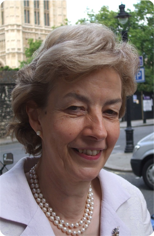 photo of Baroness Cumberlege by Simon Caldwell