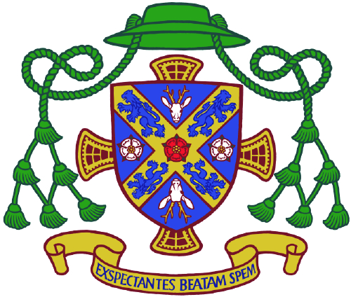 Bishop Drainey's Coat of Arms