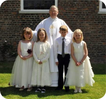 photo of First Holy Communicants at Hedon and Withernsea