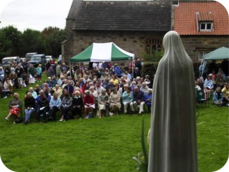 photo of the Assumption pilgrimage 2009 by Philip Cook