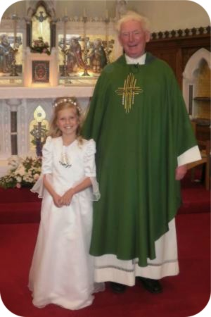 photo of First Holy Communion at All Saints Church in Thirsk