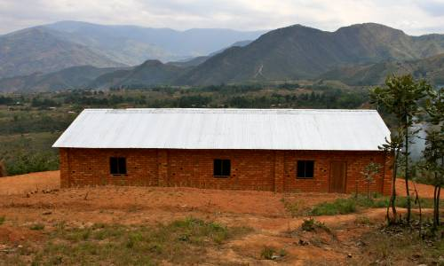photo of the church in Malawi