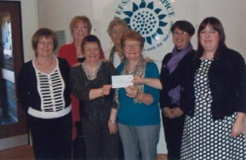 photo taken on Hospice charity night