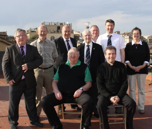 photo of some Knights of St Columba