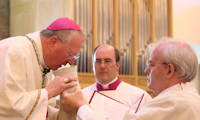 photo of Bishop Terry Drainey at the Chrism Mass