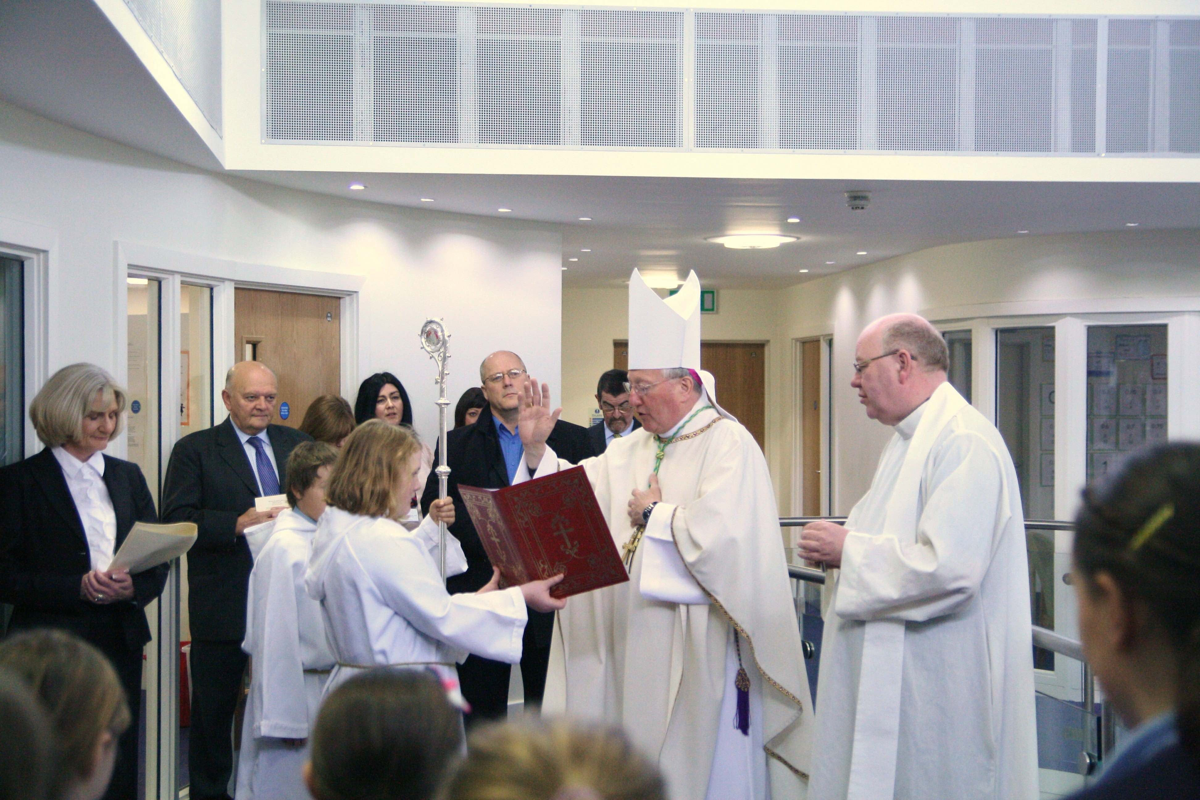 Blessing of new school building