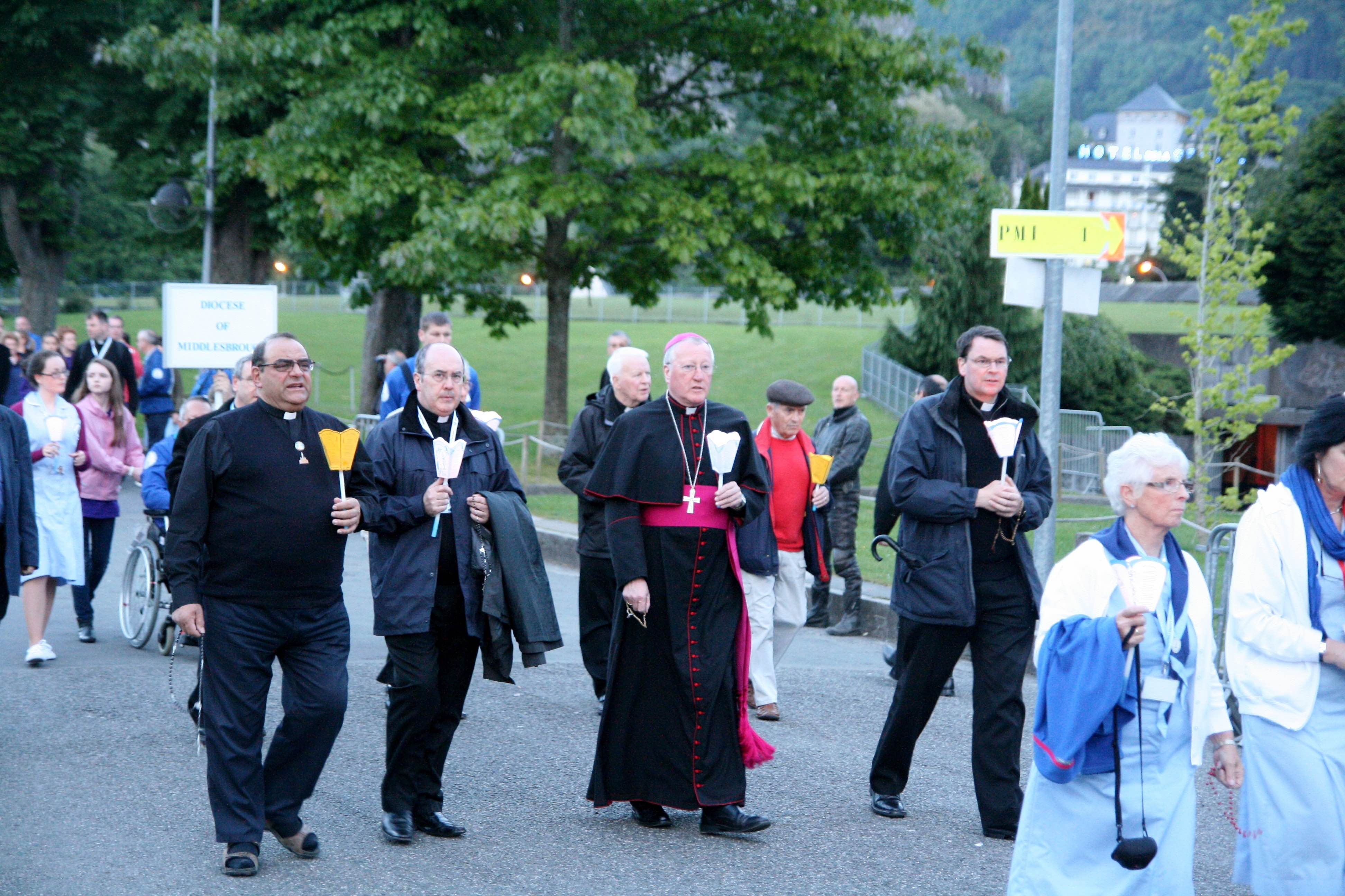 Lourdes Torchlight Procession