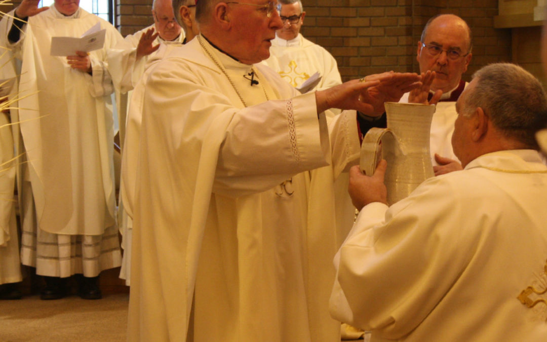 Promises Renewed At Mass Of Chrism