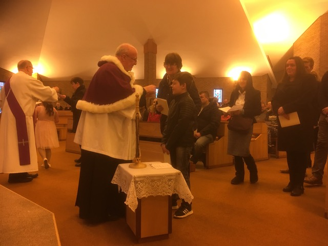 New Catholics Given Warm Welcome At Rite Of Election