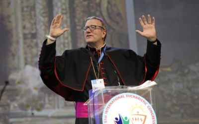 Inspirational Bishop Speaks At Eucharistic Congress