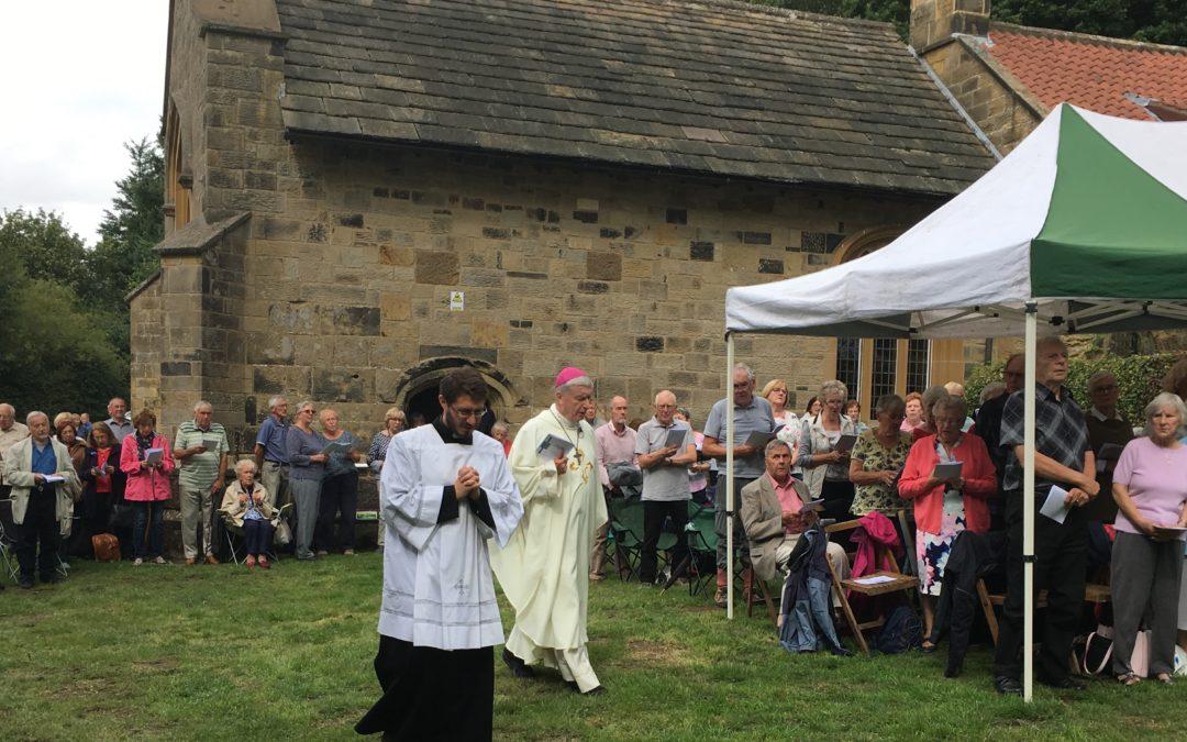 Joyful Return For Bishop John