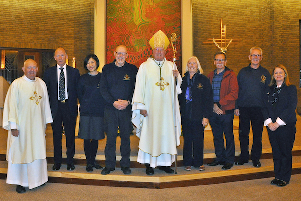 Bishop Terry Celebrates Mass For Seafarers