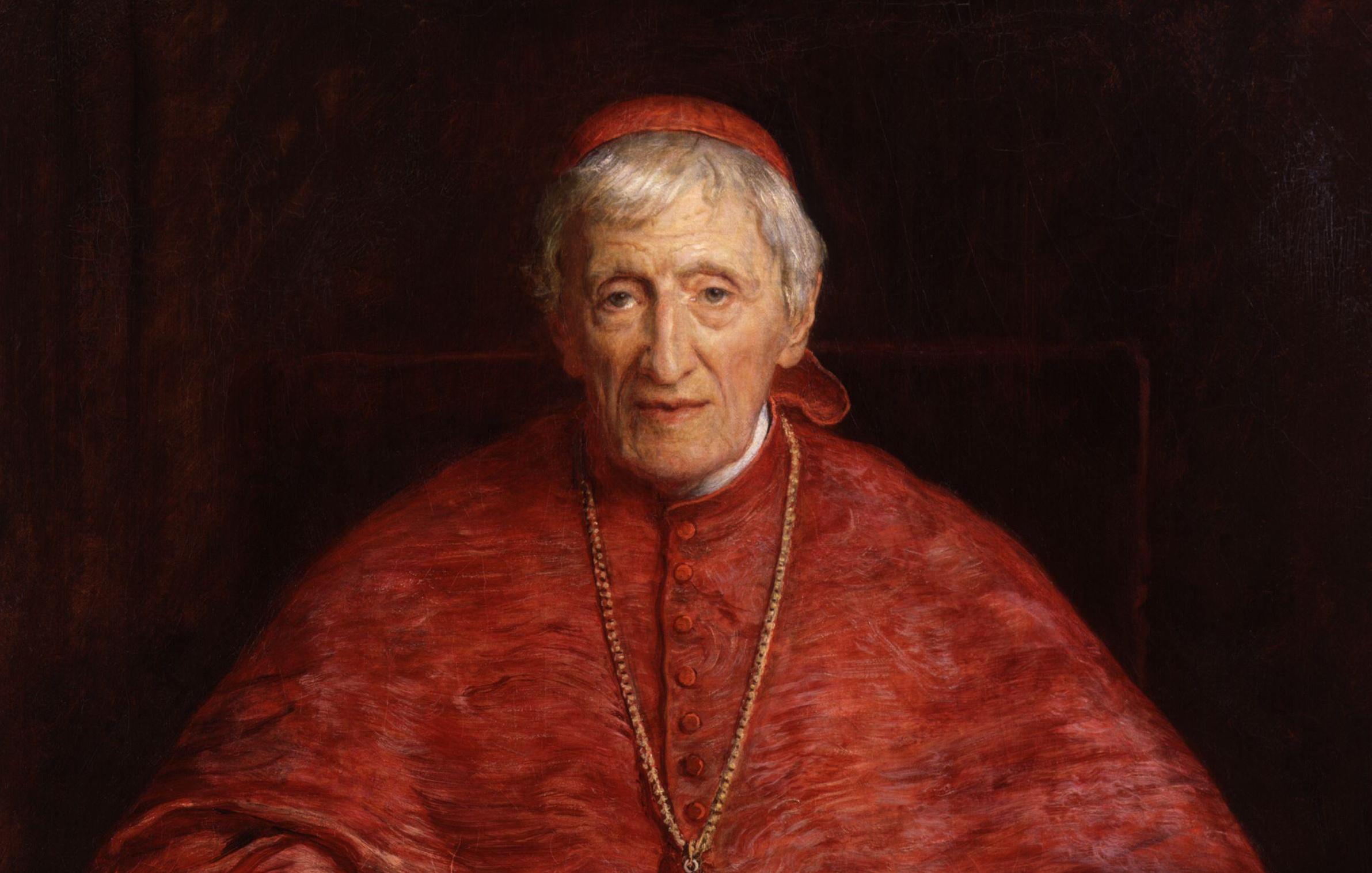 Cardinal John Henry Newman by Sir John Everett Millais