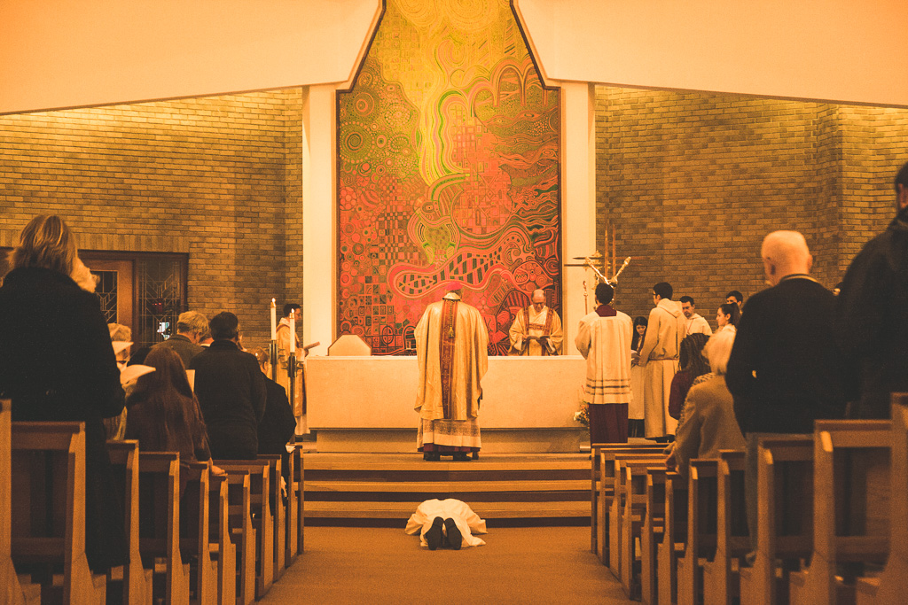 Peter Taylor's ordination to the diaconate – Photo by Dom Finn