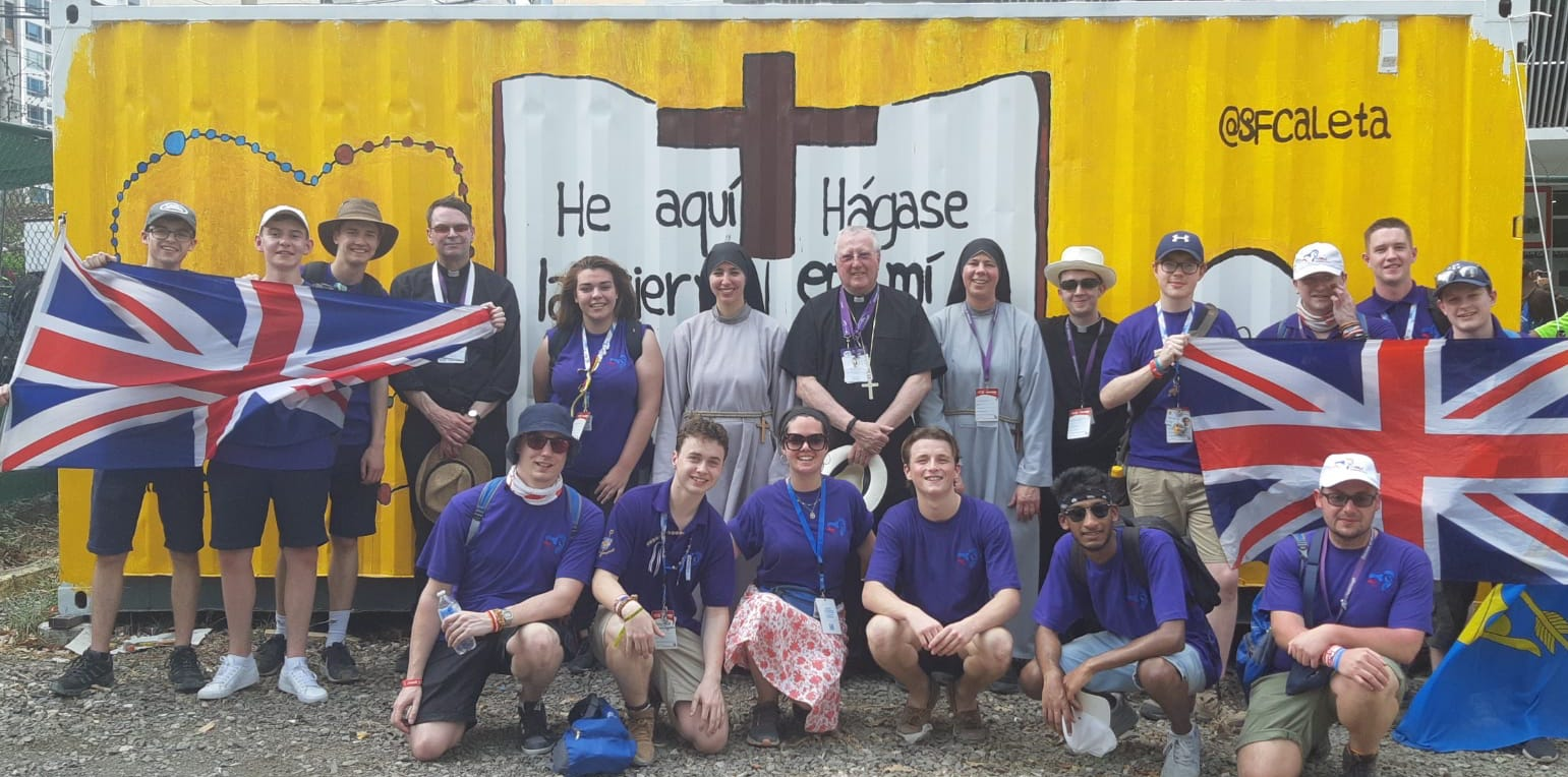 Our pilgrims at World Youth Day in Panama