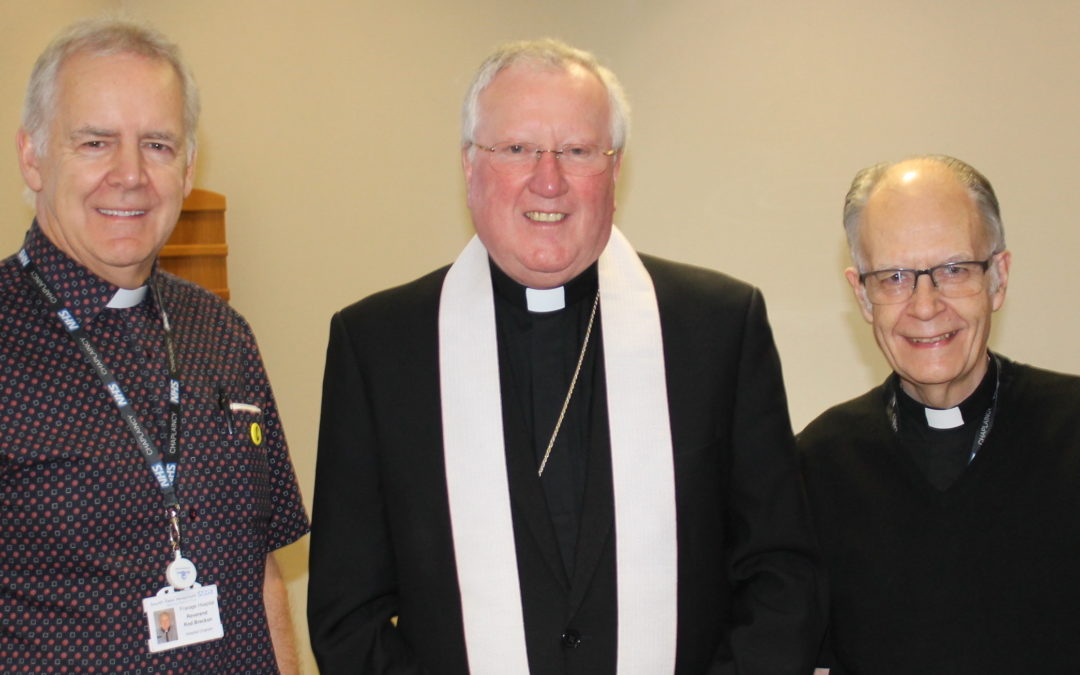 Bishop's Blessing For New Chaplaincy Team