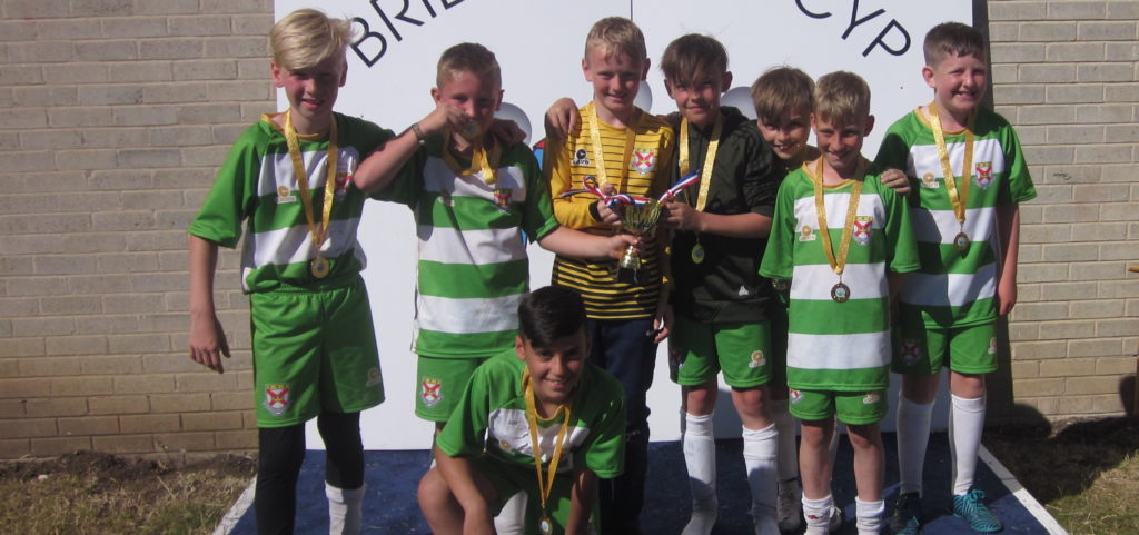 St Patrick's, Thornaby, one of the winning teams at the 2018 Primary Schools Catholic Cup
