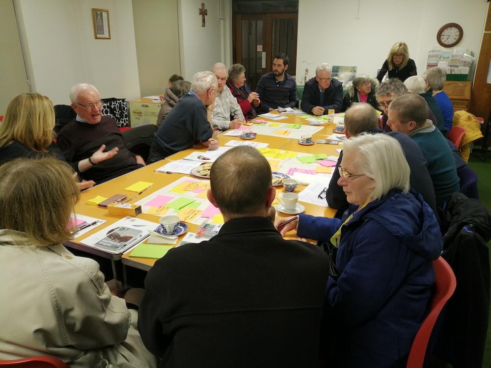 Parishioners in Redcar