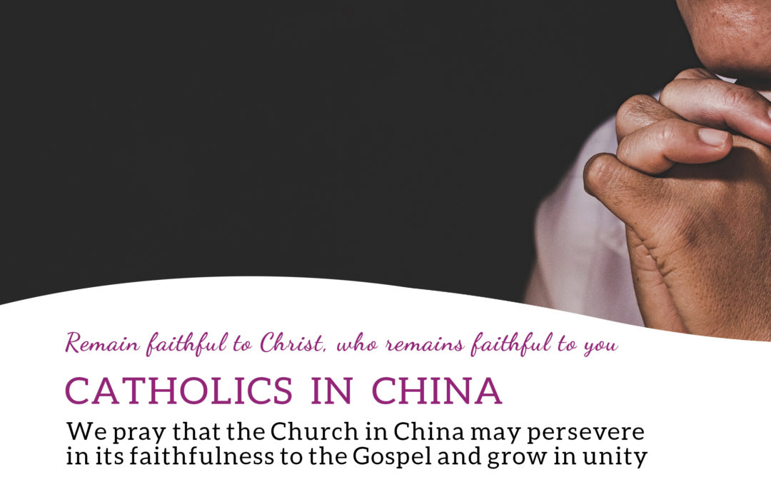 China Focus For Pope's March Prayer Intention