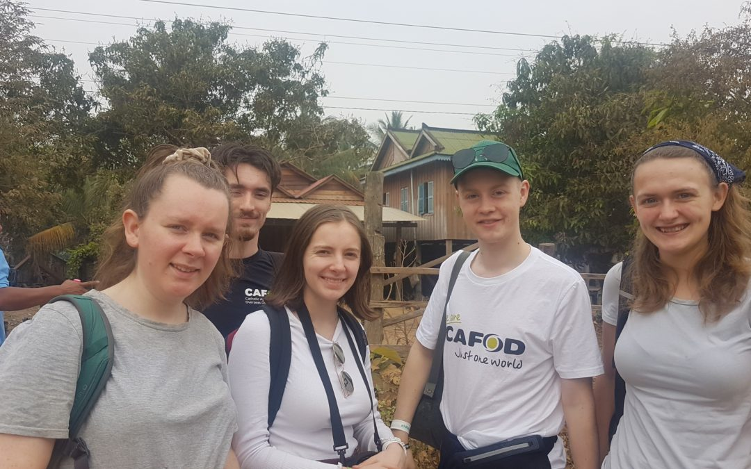 Stepping Into Cambodia With CAFOD Gappers