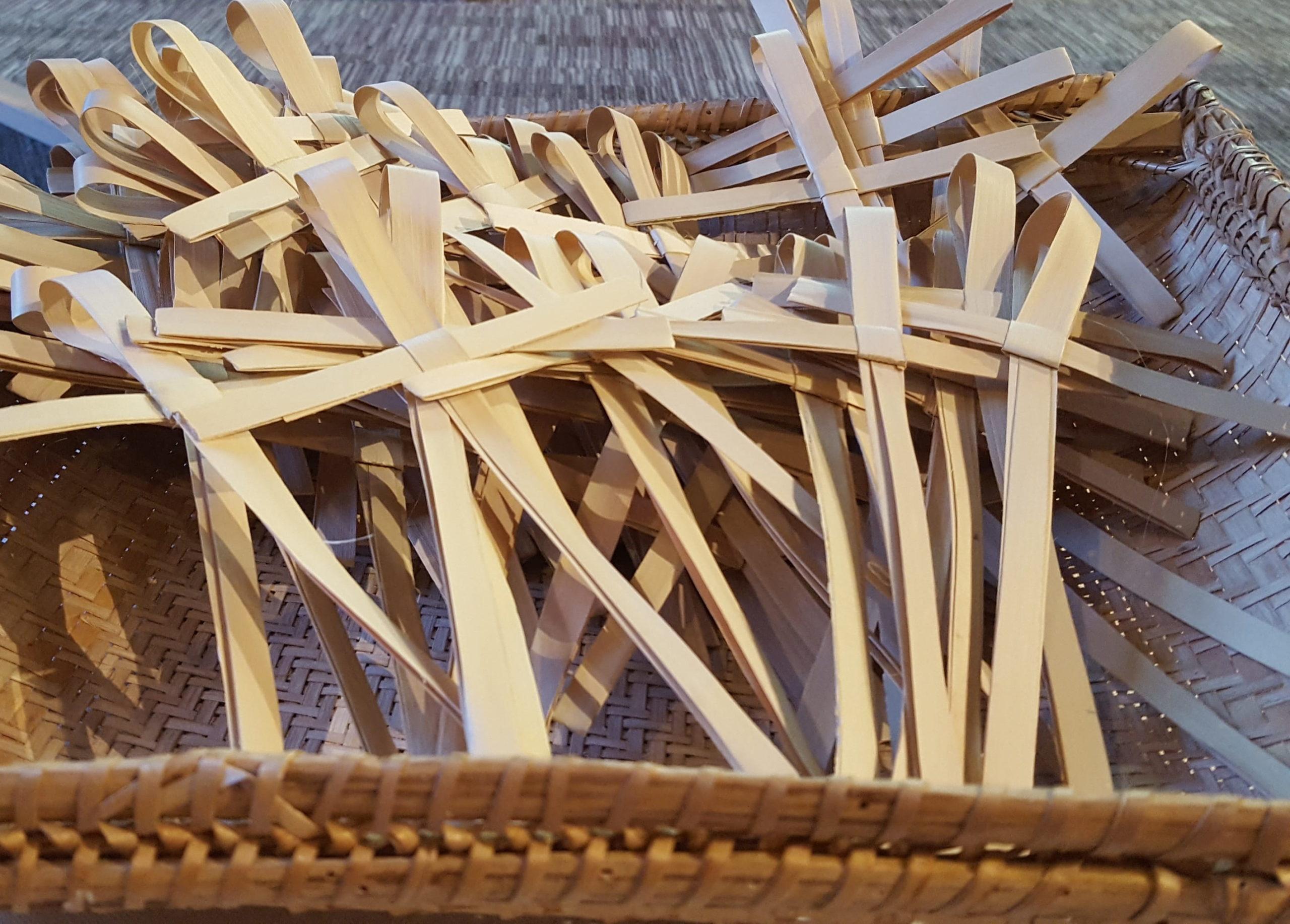 Palm crosses