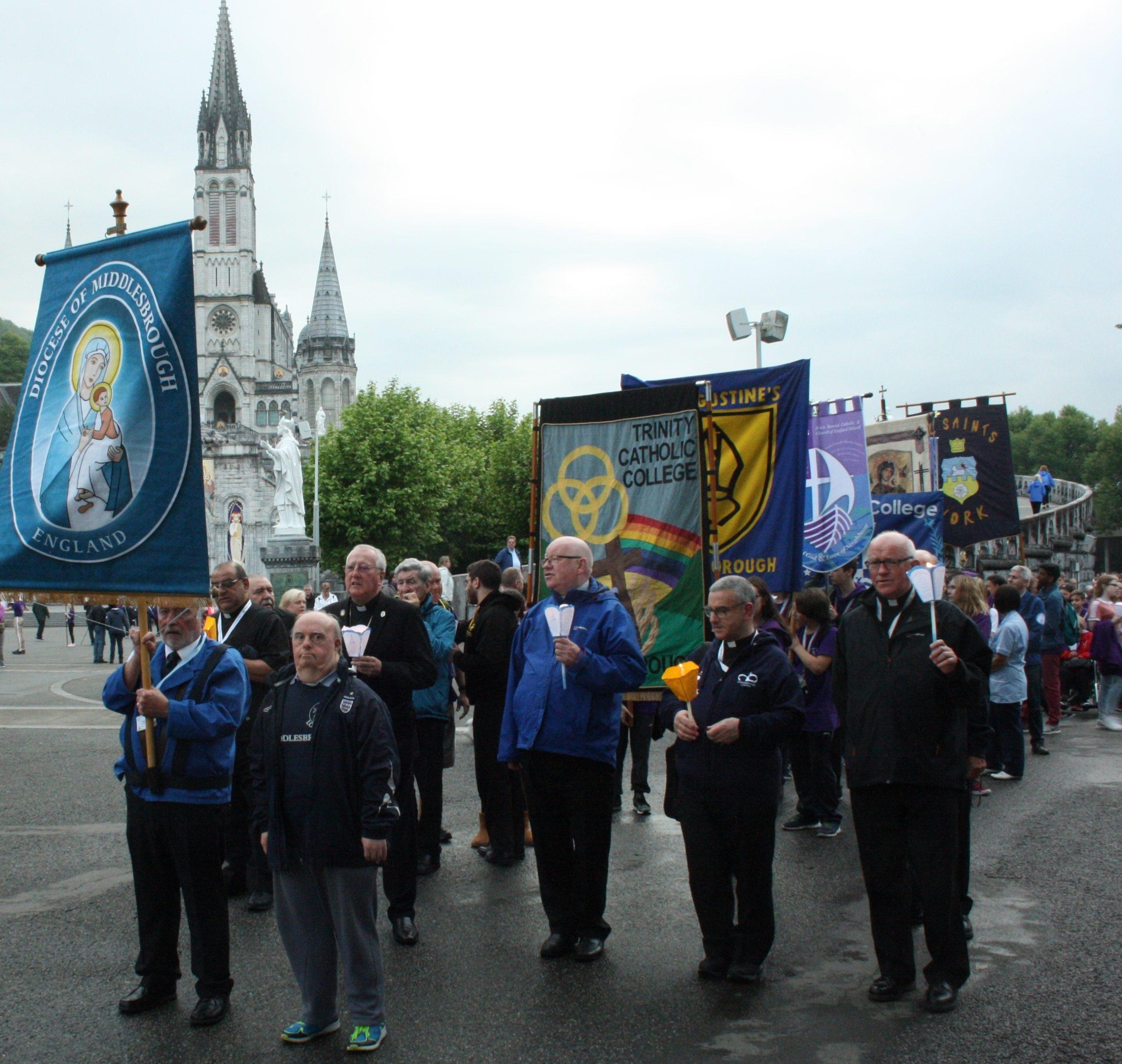 Torchlight procession – Photo by Joe Harrison