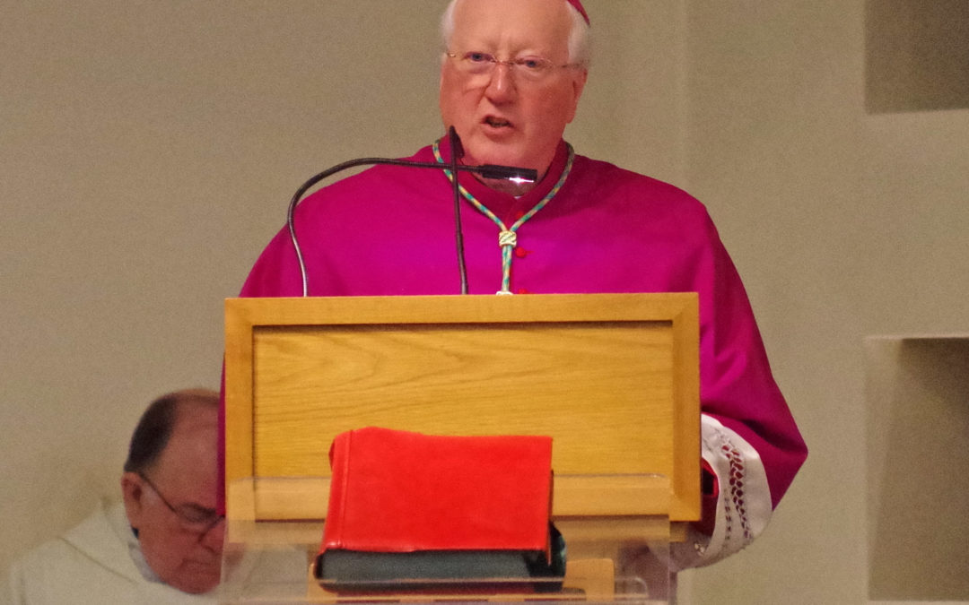 Bishop's Letter For First Sunday Of Lent
