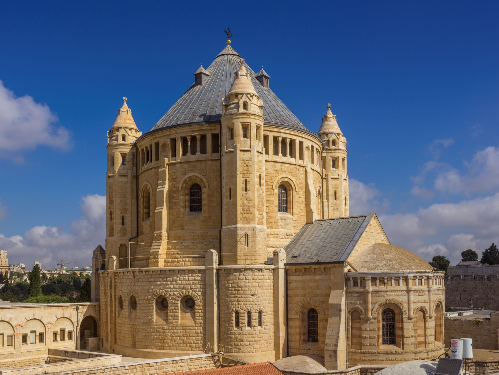 Dormition Abbey in Jerusalem, said to be the site of the Assumption