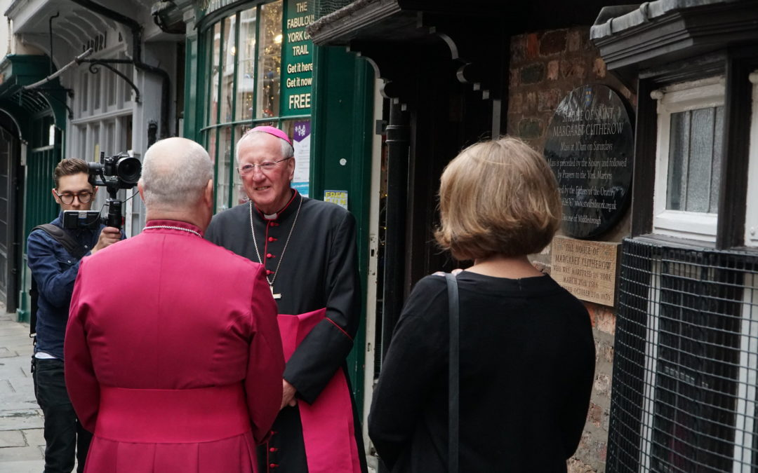 New Anglican Archbishop Welcomed To Shrine Of St Margaret Clitherow