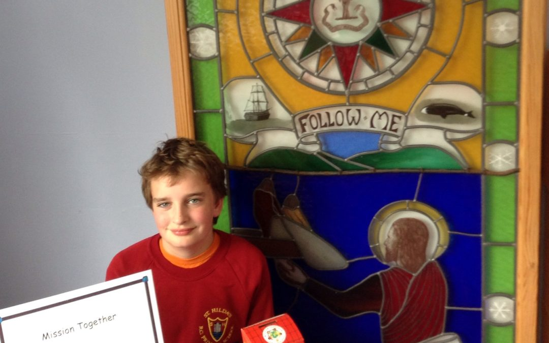 St Hilda's Student Goes Extra Mile For Mission Together Appeal