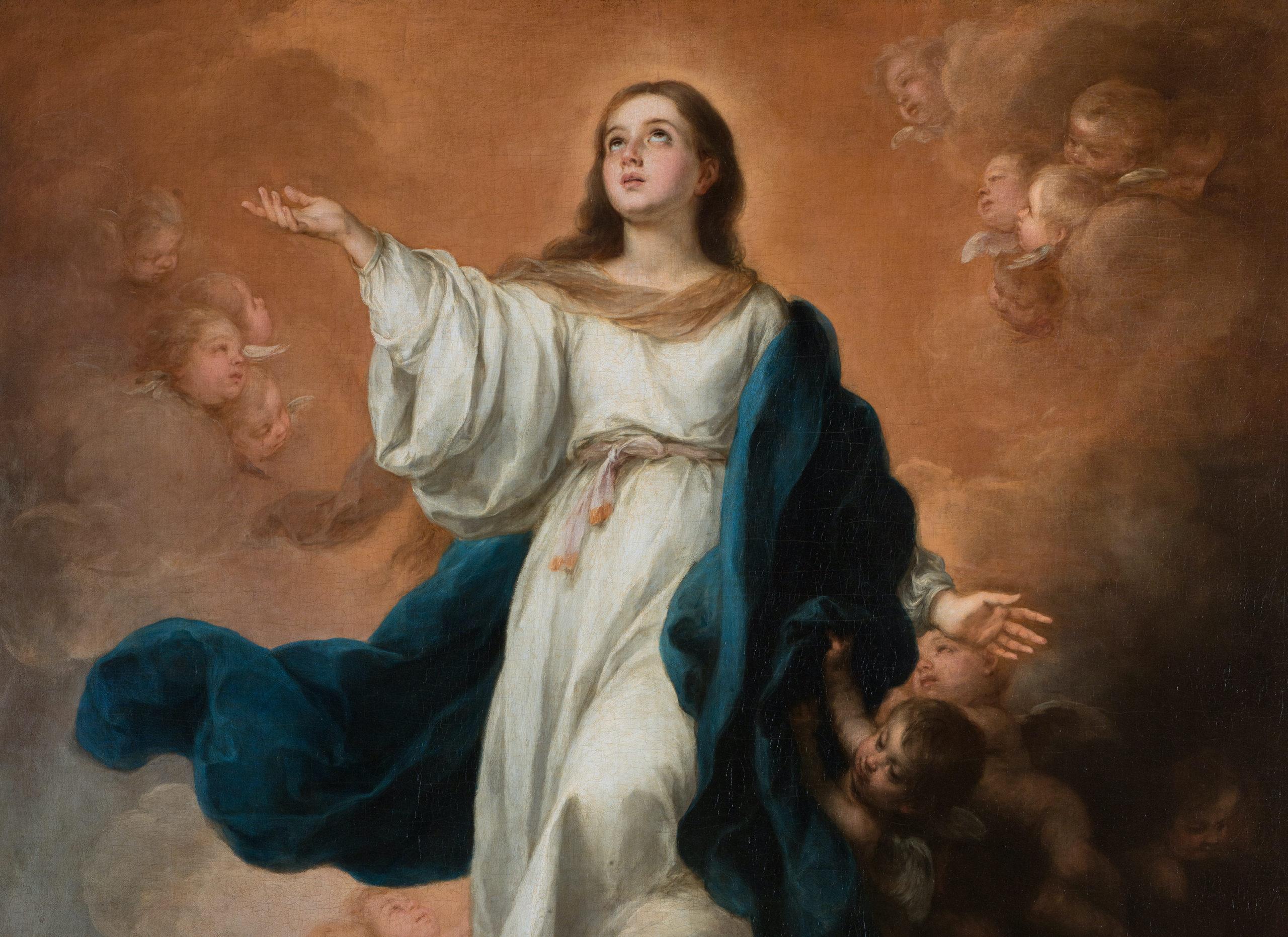 Bartolomé Esteban Murillo – Assumption of the Virgin