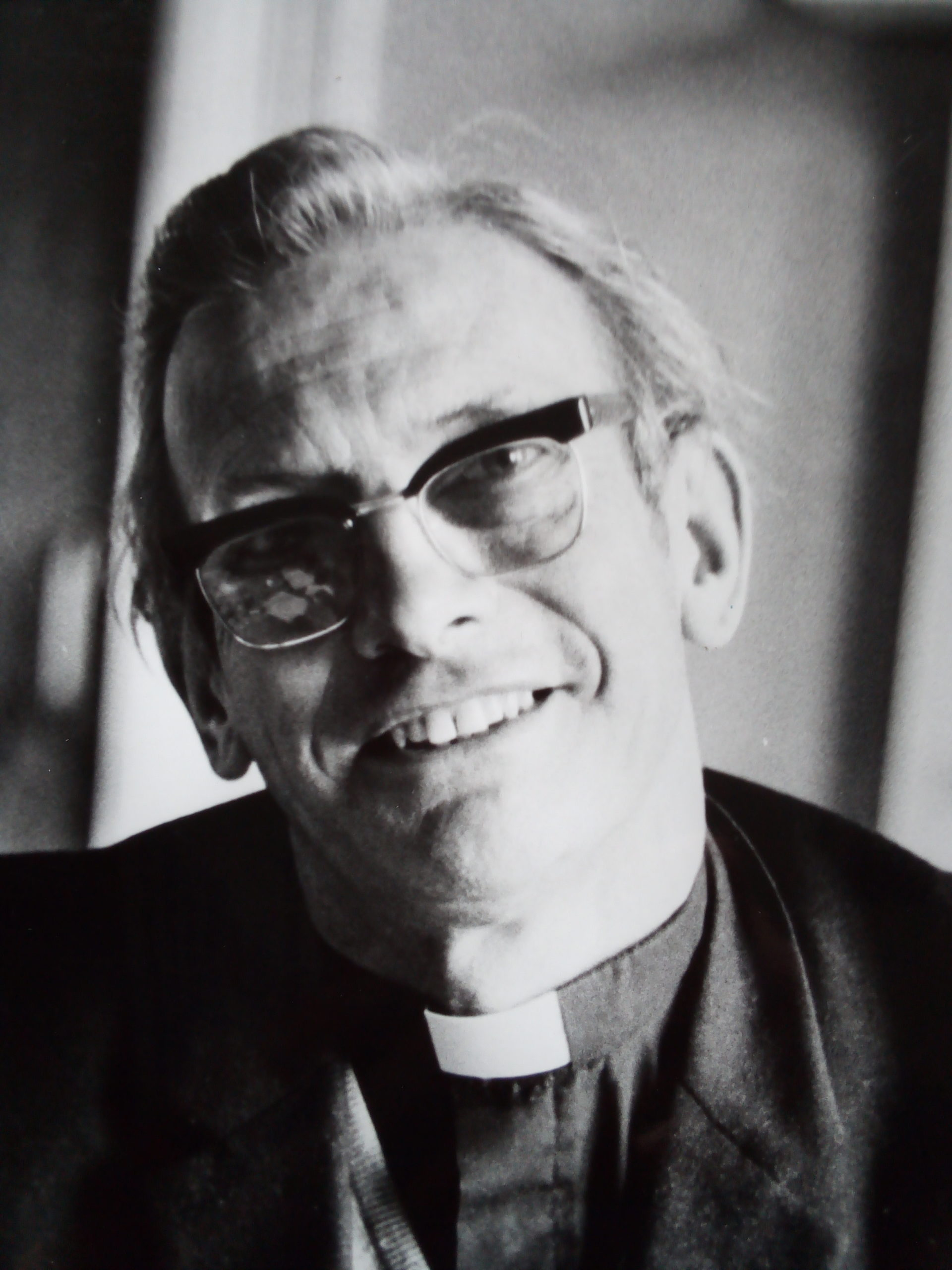 Monsignor Ray Charlton, who died on August 18 2020