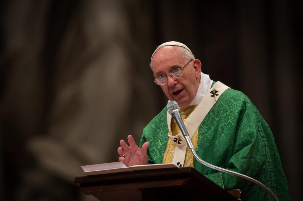 Pope Francis – © Mazur/catholicnews.org.uk