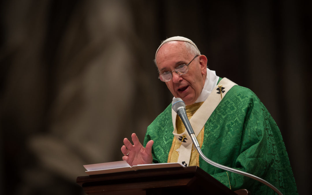 Pope Outlines His Vision For Post-Pandemic World