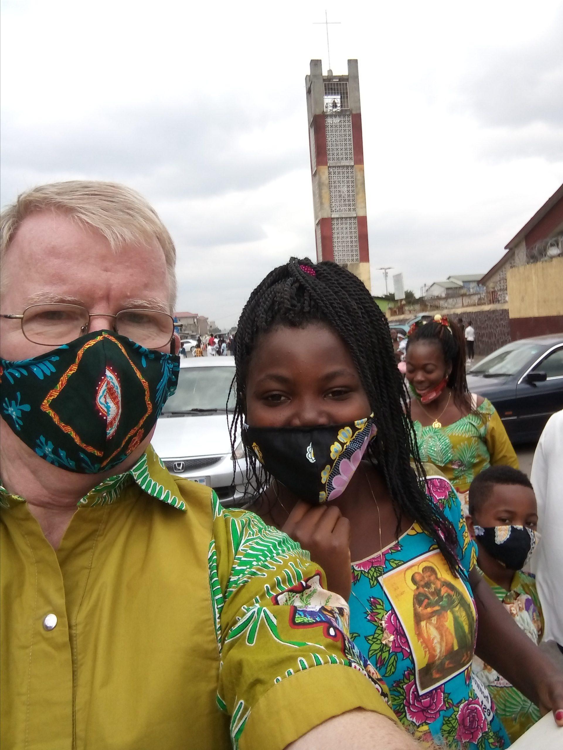 Francis Hannaway in the Democratic Republic of Congo