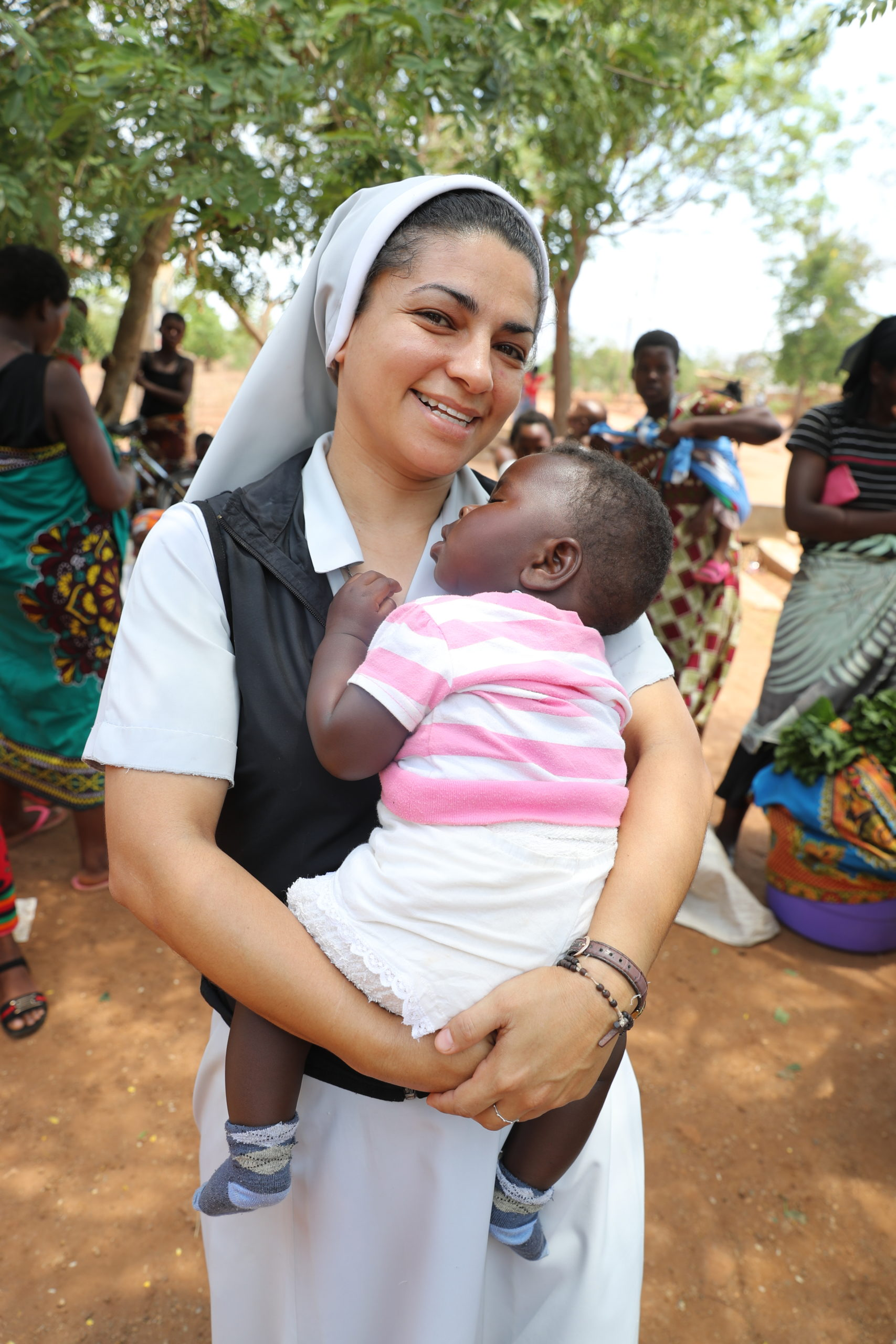 Sister Nilcéia is a Brazilian missionary working in a health clinic in a remote area of Malawi