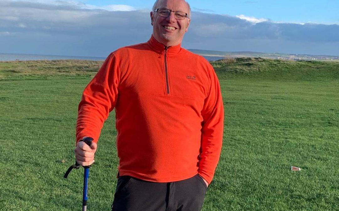 Father Bill's Coastal Walk Boost For Mind