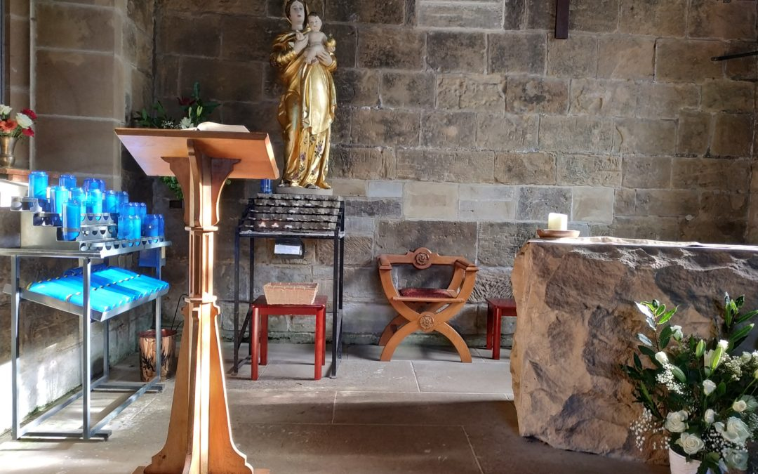 Weekly Lady Chapel Mass Is Suspended