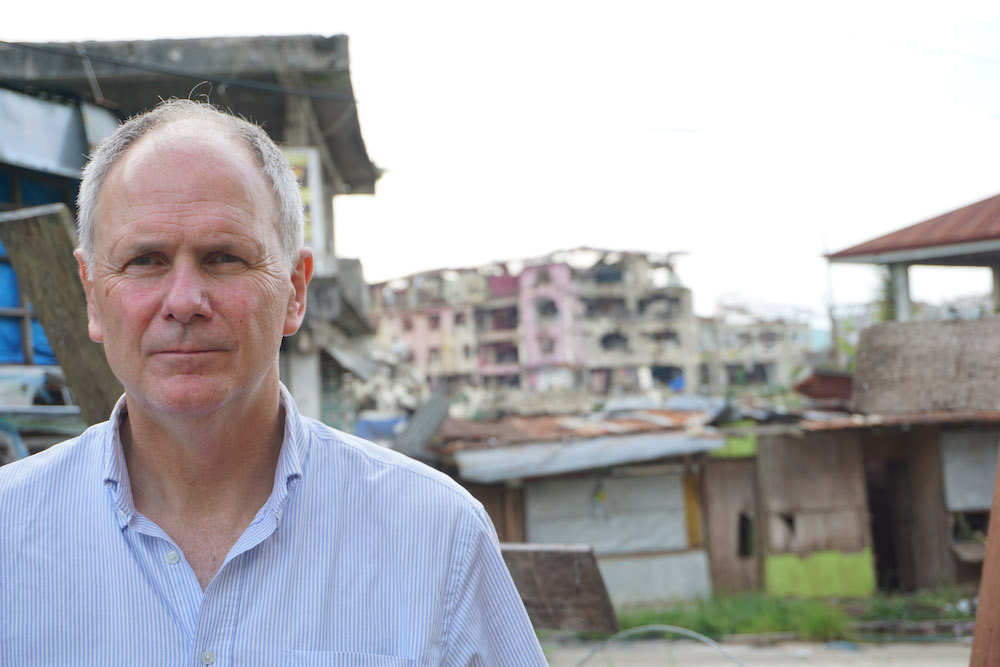 and Neville Kyrke-Smith, ACN (UK) National Director (Both images © Aid to the Church in Need
