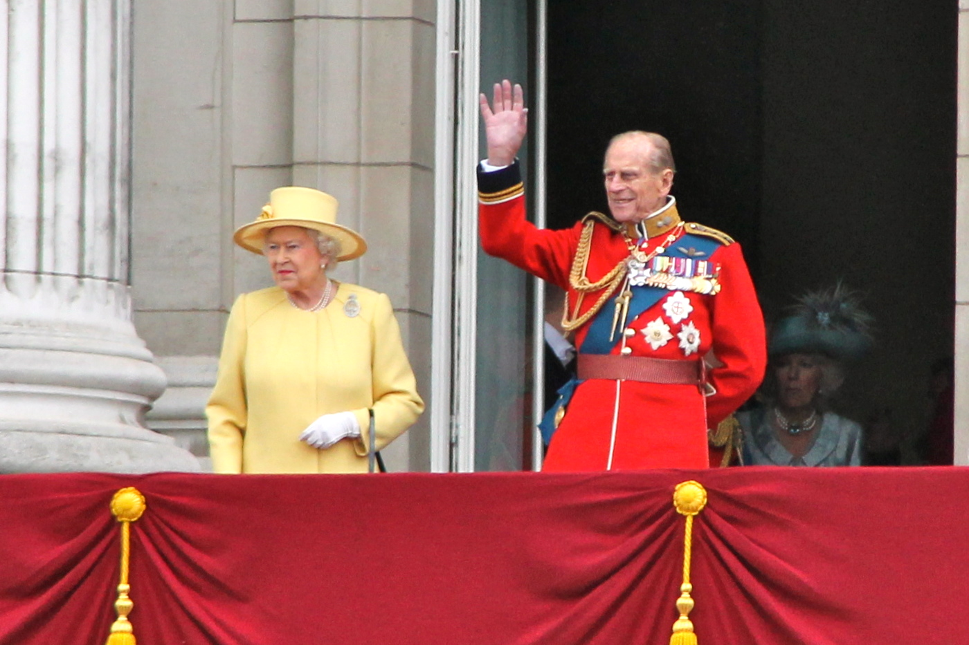 HM The Queen and Prince Philip
